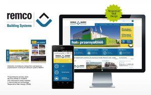Agencja Reklamowa Niceday, projekt graficzny strony www Remco