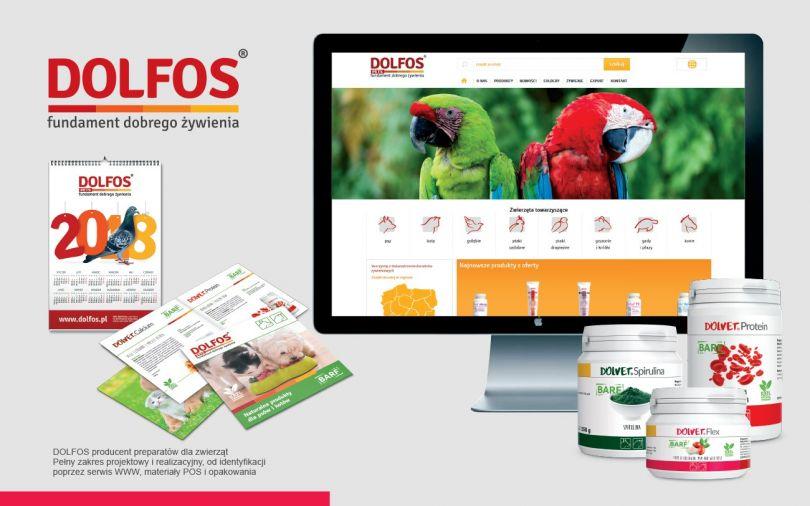 B.A.R.F. to nowe produkty DOLFOS  - Agencja reklamowa Niceday