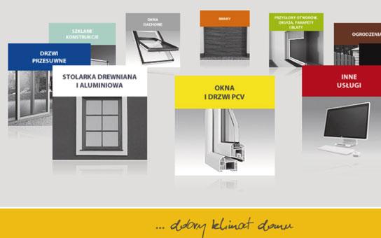 Projekt i realizacja strony internetowej firmy elde