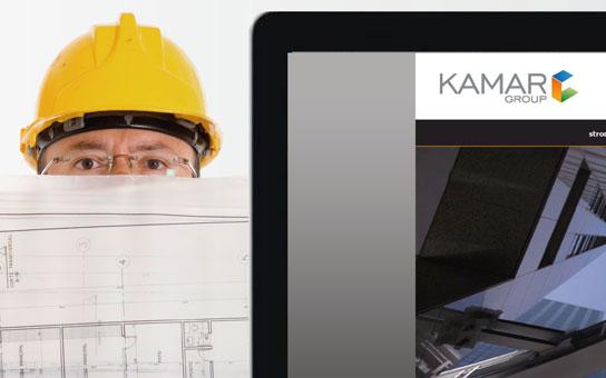 KAMAR Group strona internetowa, logo