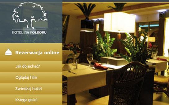 Agencja kreatywna Niceday,Strona internetowa hotelu Polboru, Responsive Web Design