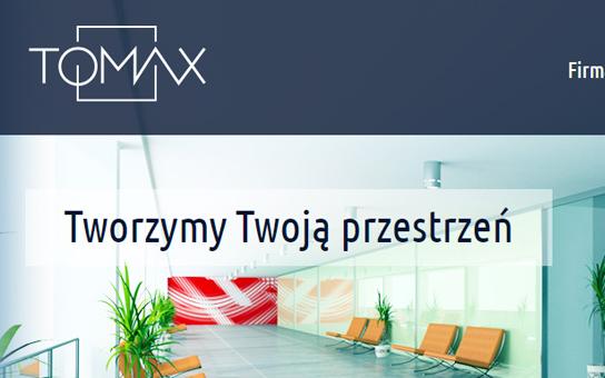 tomax materiały wspomające sprzedaż, strona www