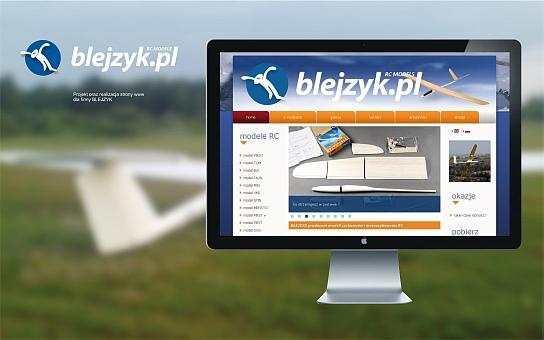 Blejzyk producent modeli szybowców rc, strona internetowa
